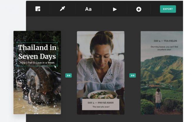 Create Google Stories